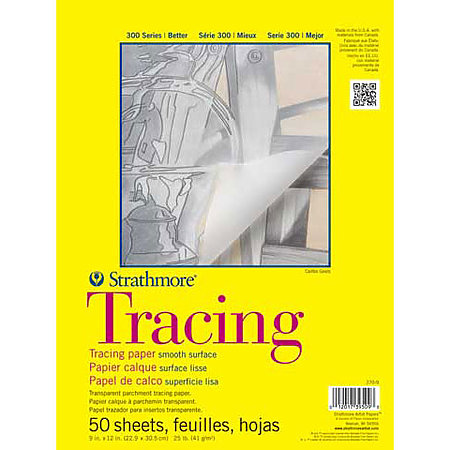 Tracing Paper Pads   300 Series