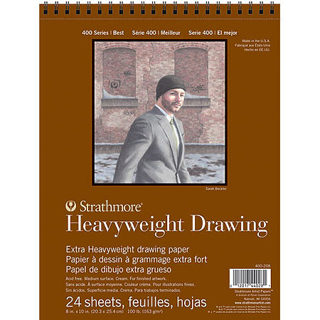 Drawing Paper Pads - 400 Series Heavy-weight