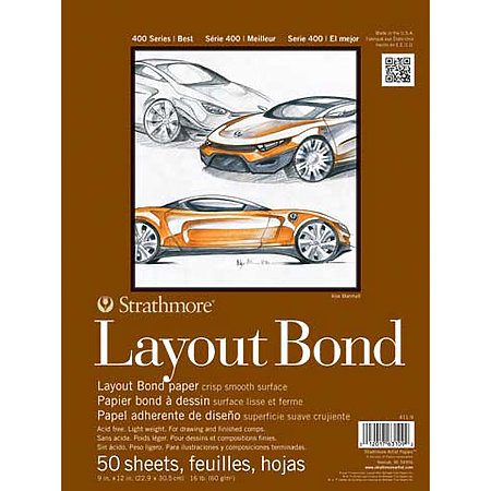 Layout Paper Pads   400 Series