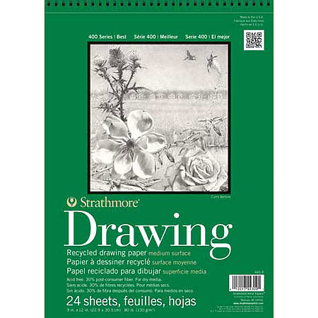 Drawing Paper Pads   400 Series Recycled