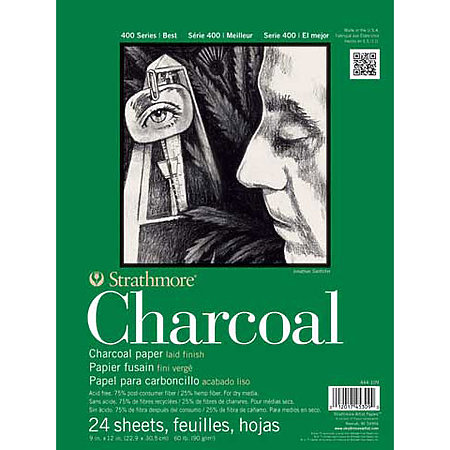 Hemp Charcoal Paper Pads   400 Series