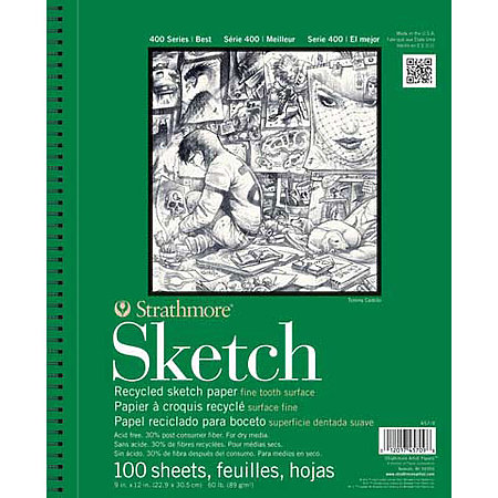 Sketch Paper Pads   400 Series Recycled