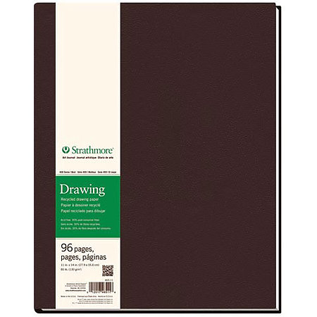Hard-Bound Drawing Art Journals   400 Series Recycled