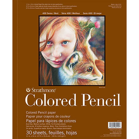 Colored Pencil Pads   400 Series