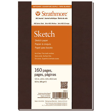Softcover Sketch Art Journals   400 Series