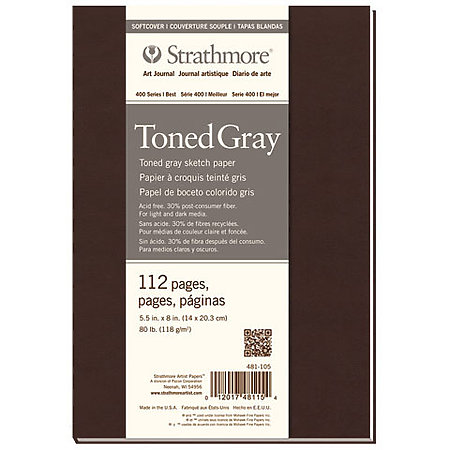 Softcover Toned Art Journals   400 Series