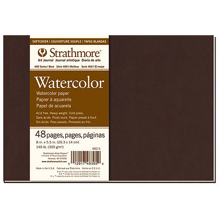 Softcover Watercolor Art Journals   400 Series
