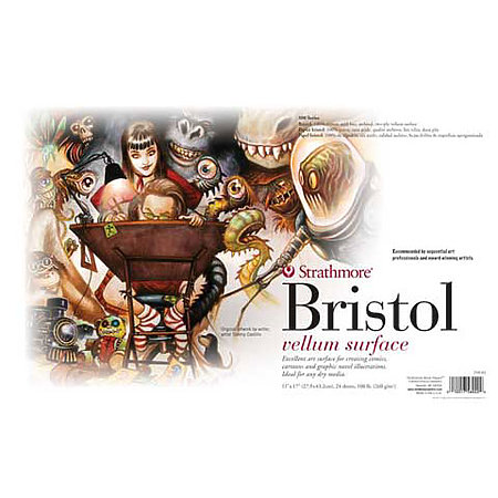 Sequential Art Bristol Paper Pads   500 Series