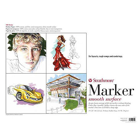 Marker Paper Pads   500 Series