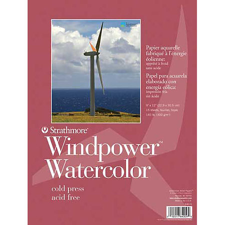 Watercolor Paper Pads   Windpower