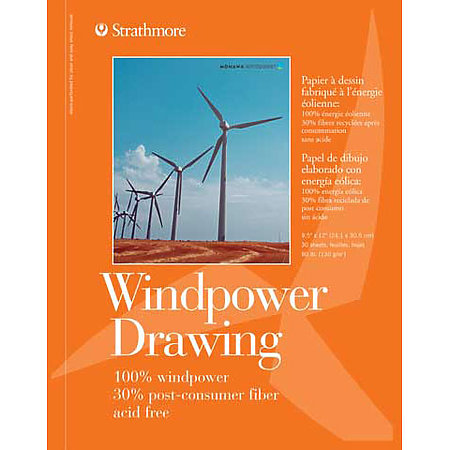 Drawing Paper Pads   Windpower
