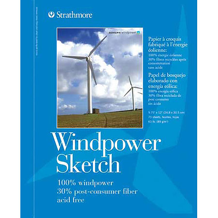 Sketch Paper Pads   Windpower