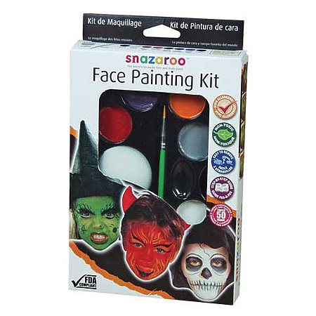 Halloween Face Paint Kit