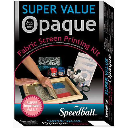 Opaque Fabric Screen Printing Kit
