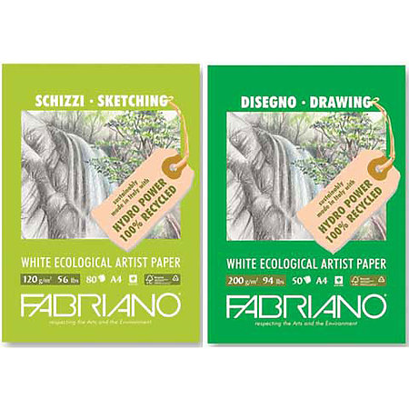Eco White Drawing & Sketching Pads