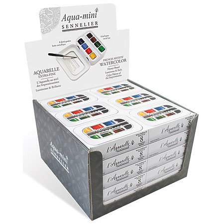 French Artist Watercolor Sets P.O.P. Display