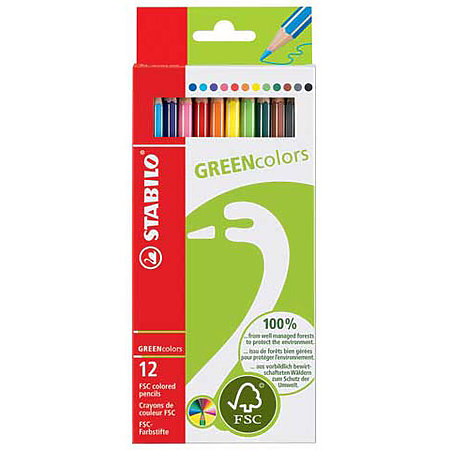 GREENcolors Colored Pencil Sets