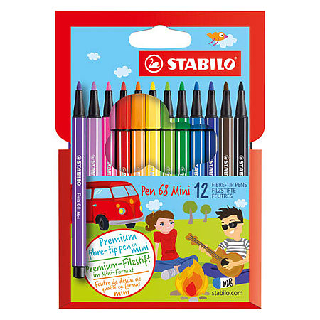 Pen 68 Marker Mini Sets