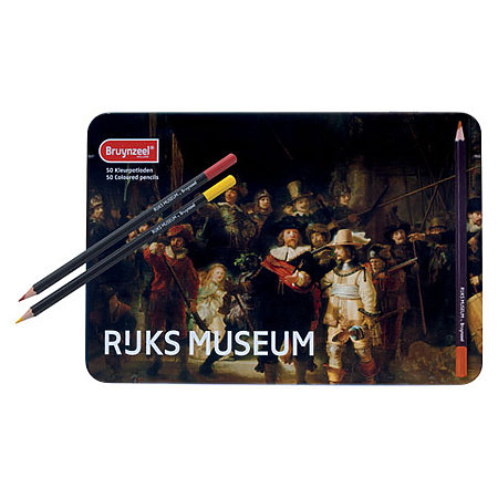Rijksmuseum Colored Pencil Tin Sets