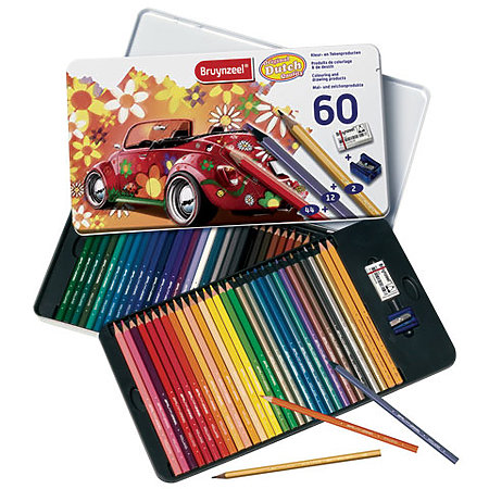 Colored Pencil Tin Sets