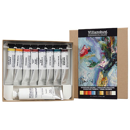 Williamsburg Handmade Oils 8-Color Introductory Sets