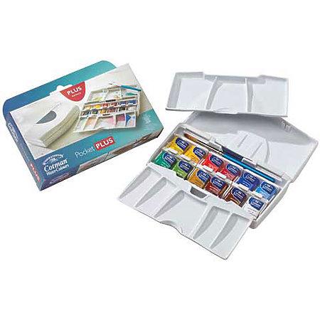 Cotman Watercolor Pocket Plus Set