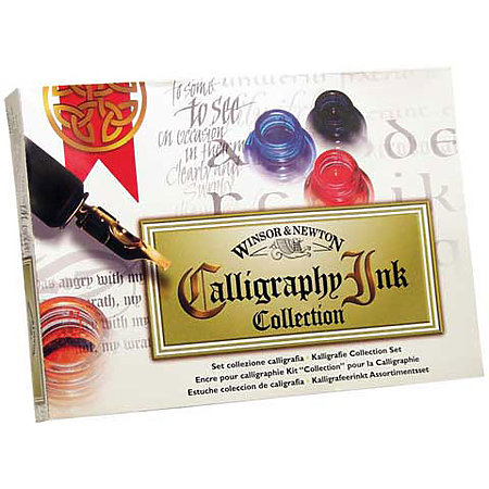 Calligraphy Ink Collection Set