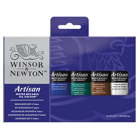 Artisan Water Mixable Oil Colour Beginners Set